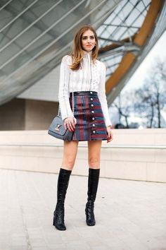 Chiara Ferragni in Louis Vuitton #StreetStyle