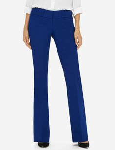 Flared pants are an on-trend approach to your workday attire. Our amazing Exact Stretch fabric flexes to fit all shapes, and is consistently top rated by our customers.