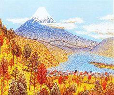 日本平よりの富士(山下清)