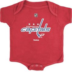 25c6b8a4153 Washington Capitals baby stuff. Most likely getting one for my niece ...