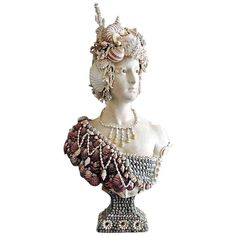 Bust of a Lady | From a unique collection of antique and modern busts at http://www.1stdibs.com/furniture/more-furniture-collectibles/busts/