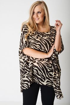 Lagenlook Plus Size Sheer Kimono Top Tunic Cover Up Animal Print Chiffon Womens Print Chiffon, Size Clothing, Plus Size Outfits, Cuffs, Ties, Kimono Top, Cover Up, Neckline, Tunic Tops