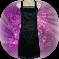 Onyx Nite NWT Dress sz 8 Layered with Sparkles BEAUTIFUL #OnyxNite