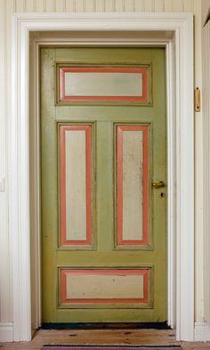 Old Swedish door