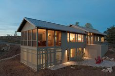 Madison County Residence - contemporary - exterior - other metro - Alchemy Design Studio