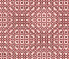 Lumière Glaze - Strawberry fabric by kristopherk on Spoonflower - custom fabric