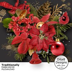 DitaB Designs:    During December I´m a featured designer at     ...