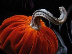 Velvet pumpkins...full tutorial