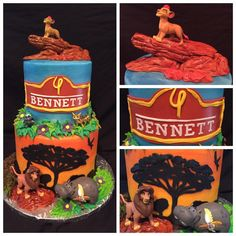 Lion Guard Birthday Cake from Eaton Cakes