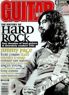 Jimmy Page of Led Zeppelin - Guitar World Magazine