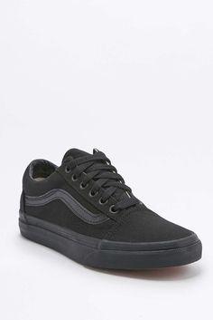 Vans Old Skool All Black Trainers