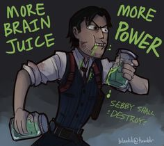Sebastian Castellanos and his brain juice