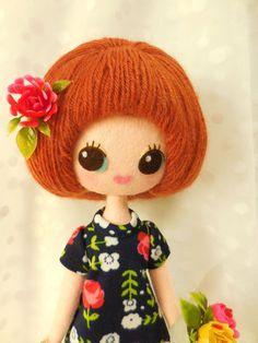 Doll Crafts, Diy Doll, Felt Fabric, Fabric Dolls, Soft Dolls, Felt Art, Softies, Handmade Toys, Doll Toys