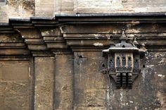 Bird House on a mosque wall / Kuş Evleri - Ayazma Camii, Istanbul