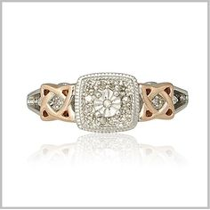 Celtic Knot Diamond Ring