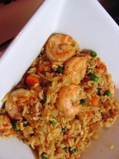 Beth Cooks - Journal - Sweet and Spicy Shrimp Fried Rice Shrimp Fried Rice, Shrimp Dishes, Rice Dishes, Sweet And Spicy Shrimp, Seafood Recipes, Cooking Recipes, Asian Recipes, Healthy Recipes, Seafood Dinner