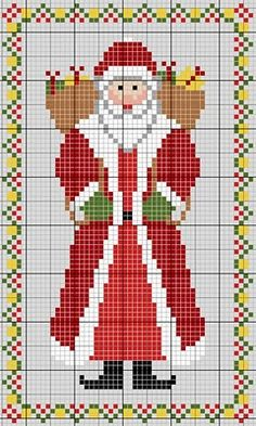 Père-Noël 2009 (grille gratuite de Gazette 94)