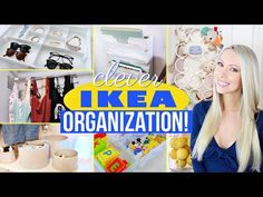 (2) 22 Clever IKEA Organization Ideas! - YouTube