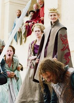 Perhaps the most infamous moment in the TV/Book series :( SANSA'S FACE