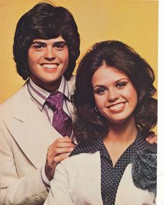 "Donny and Marie Osmond - she was a little bit country and he was a little bit rock-n-roll on ""The Donny and Marie Show"""