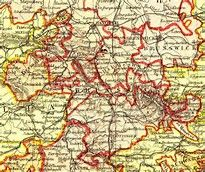 lippe detmold map 1840 - Bing images