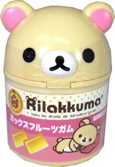 Korilakkuma Mix Fruits Gum in Cute Korilakkuma Bottle