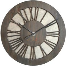 Very Large Roman Numeral Luxury  Wall Clock