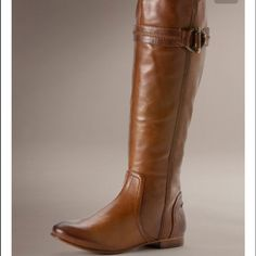Frye Jillian toggle knee high boot Knee high Jillian toggle Frye boot size 8.5. Have grown out of these but otherwise in good condition. Frye Shoes Winter & Rain Boots