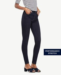 Ann Taylor Curvy All Day Skinny Jeans in Evening Sea Wash #fashion #style #love #shopping afflink