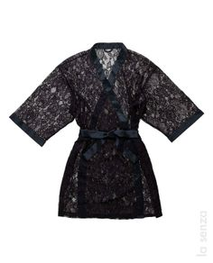 Add a sexy lace kimono to spice up your lingerie. Make #CyberMonday a sexy one! 50% Off $100 Purchase + Free Shipping. Today only! #giftittome Pjs, Pajamas, Lace Kimono, Lingerie, Clothing Ideas, Weed, Spice, How To Make, Free Shipping