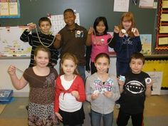 "Hagemann Elementary | Second Grade Business | Students studied economics and created their own ""businesses"" as part of their Social Studies unit. They invited their parents, other students and staff to sample their wares for a quarter. The students donated a portion of their profits to Hagemann's Ambassador's club, which donated it to families in the area who lost their homes after a tornado on New Year's Eve. The remaining profit will be used to buy student-chosen items for their…"