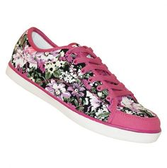 I want Floral Sneakers so bad!
