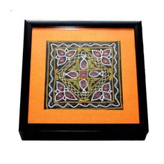 Gujarati Embroidery Wooden Box - FOLKBRIDGE.COM   Buy Gifts. Indian Handicrafts. Home Decorations.