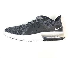 best website bdcdd da555 Nike Air Max Sequent 3 Women s Size 9 Black White Gray Brand New   eBay Nike
