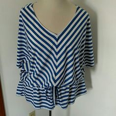 Selling this Chevron Top in my Poshmark closet! My username is: shann12189. #shopmycloset #poshmark #fashion #shopping #style #forsale #Faded Glory #Tops