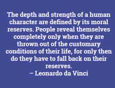 Looking for more strength? Check out our quotes from some of the strongest people in history to give you inspiration on the strength you can draw from within. Da Vinci Quotes, Character Quotes, Fall Back, This Is Us Quotes, Words Of Encouragement, Success Quotes, Strength, Inspirational Quotes, Messages