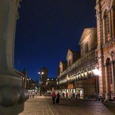Ferrara by night - Instagram by michyzen