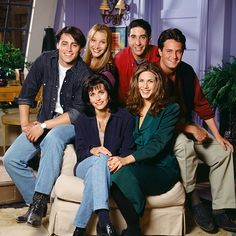 The Most '90s Photos of the 'Friends' Cast