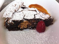 Flourless Chocolate Cake with fillings