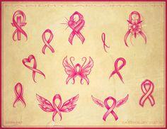 Butterfly Tattoos | Pink RIbbon Tattoo Mississippi