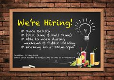 Come and join our team.