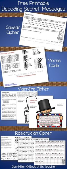 87 best free secret codes images on pinterest coding computers four cipher codes to use when creating secret messages fandeluxe Choice Image