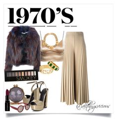 """""""Casino"""" by all-things-vicious on Polyvore featuring KG Kurt Geiger, Marni, Givenchy, Glamorous, Forever 21, Smashbox, Versace, Tiffany & Co., women's clothing and women"""