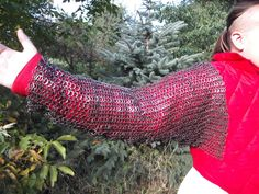 chainmail sleeves Chain Mail, Sleeves, Chain Letter, Chainmaille, Cap Sleeves