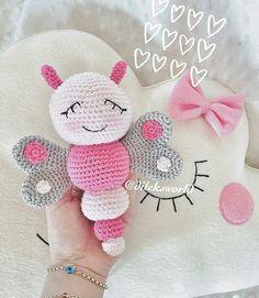 New Crochet Animals Amigurumi Tutorials Yarns Ideas Crochet Animal Amigurumi, Crochet Baby Toys, Crochet Animal Patterns, Cute Crochet, Crochet For Kids, Amigurumi Patterns, Crochet Animals, Crochet Crafts, Crochet Dolls
