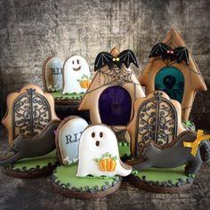 Halloween icing cookie ハロウィンアイシングクッキー sugarcookies