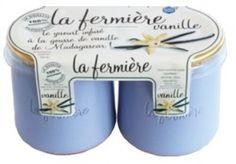 La fermiere vanilla yoghurt in clay pots Blueberry Breakfast, Big Love, Clay Pots, Yogurt, France, Products, Vanilla, Clay Pot Crafts, Porcelain