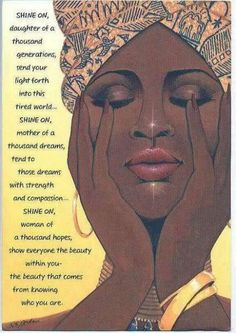 Black 👑 Woman remember the Queen that you are Black Love Art, My Black Is Beautiful, Black Girls Rock, Black Girl Magic, African American Art, African Art, Native American, Caricature, Consciousness Quotes