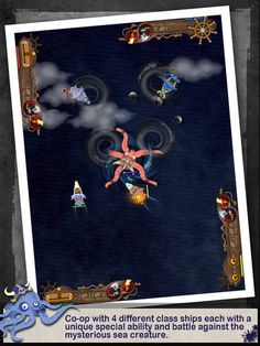 pirate's battle  디테일한 컨트롤로 잘만들어진 게임  상대방의 배를 격추시켜라