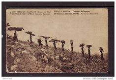 This Day in History: Mar 5, 1916: SA troops invade East Africa in World War I http://dingeengoete.blogspot.com/ http://images-00.delcampe-static.net/img_large/auction/000/053/655/374_001.jpg?v=2